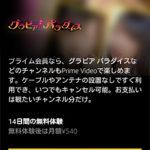 グラビア パラダイス「申し込みページ」画面