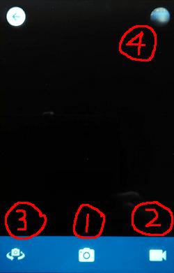 FreeTime「カメラ」画面